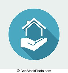 Home services - Vector icon