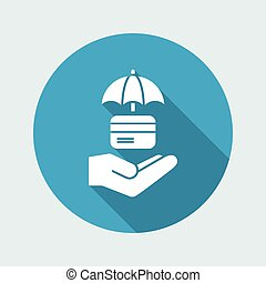 Secure payment - Minimal vector icon