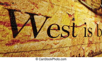 West is best grunge concept