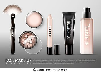 Foundation Cosmetology Products Collection - Foundation...