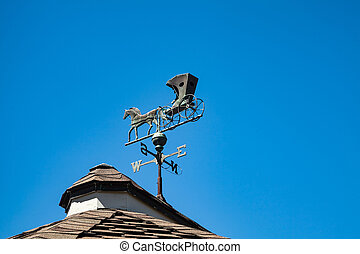 Weather Vane - A Weather Vane which is the shape of a horse...