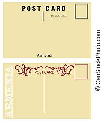 Vintage postcards for messages Armenia - Vintage postcards...