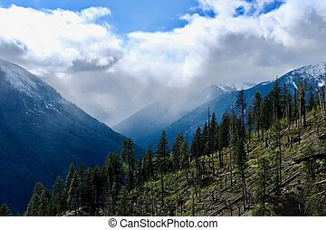 North Cascades wilderness. Leavenworth. Seattle. Washington...