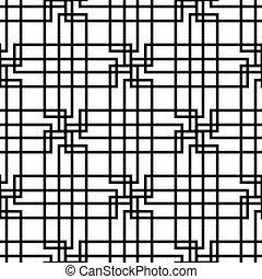 Geometric Seamless Pattern - Modern stylish texture....