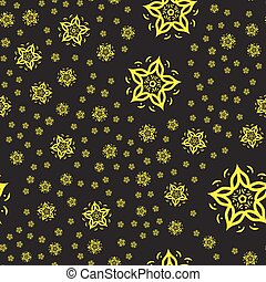 Arabic seamless pattern