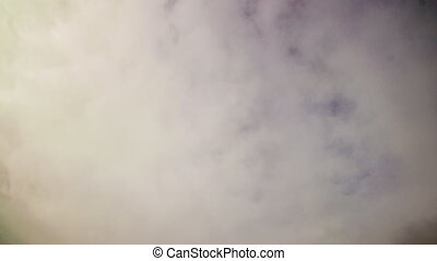 Timelapse of gray overcast clouds - Timelapse of gray,...