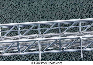 Bridge Over Troubled Waters - Mooring platform and...