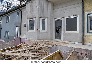 townhouse to be renovated - older detached to be...