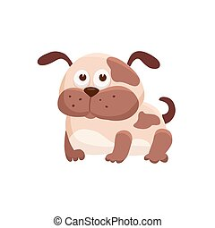 cartoon baby animal isolated - Adorable dog illustration....