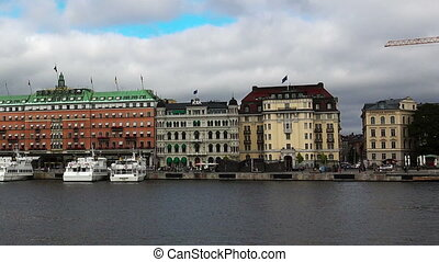 The Grand Hotel in Stockholm. Sweden. - The Grand Hotel in...