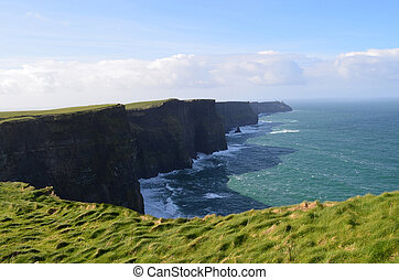Amazing Scenic Views of the Cliff's of Moher - Ireland's...
