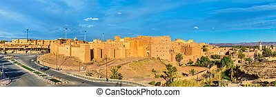 Taourirt Kasbah in Ouarzazate, Morocco. It is one of the...