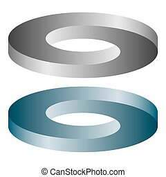 round optical illusion - round abstract optical illusion...