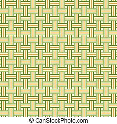Knitting pattern background - endless - endless green and...