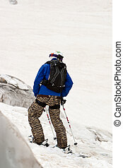 Freerider - Freeride in a mountains, Caucasus, summer, 2010