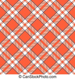 Checkered tablecloths pattern - endless - seamless of red...