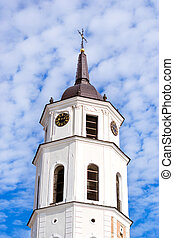 Bell Tower of Vilnius Cathedral Basilica of Saints...