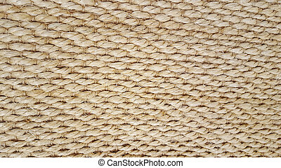braided rope design - close up of braided rope textured...