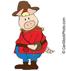Canadian Ranger Pig