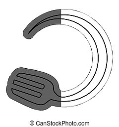 fork icon image - fork icon over white bckground. vector...