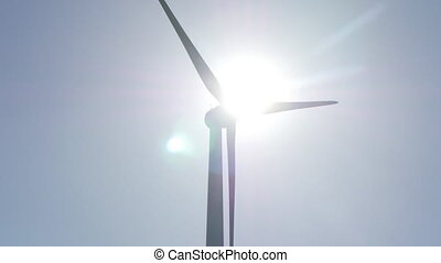 Power generation wind farm, eco power
