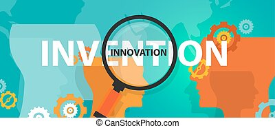 innovation vs invention concept of thinking analysis idea creative mind