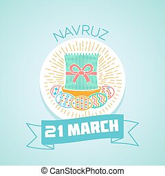 21 March Navruz - Calendar for each day on March 21....