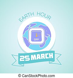 25 March Earth Hour