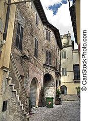 Alleyway Foligno Umbria