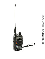 Portable radio transceiver - Amateur portable radio...
