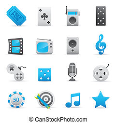 03 Indigo Entertainment Icons - Professional illustration...