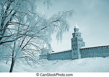 old-time fortress