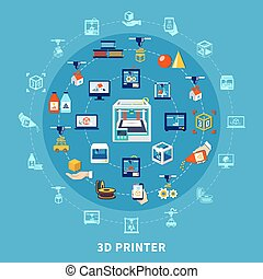 3d Printing Design Composition - 3d printing design...