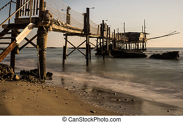 The coast of the Travocchi - The ancient fishing on...