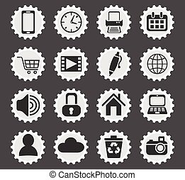 blog icon set