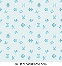 Set of snowflakes. Background for winter seamless pattern