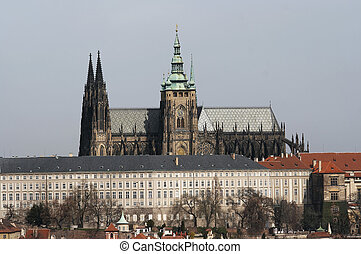 Prague castle - Hradacany - Hradcany - Cathedral of Saint...