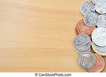 Pile of Modern British Coins