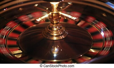 electronic roulette spinning casino, chips