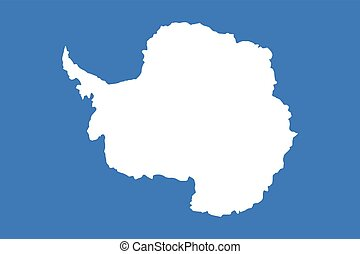Official vector flag of Antarctica .
