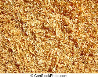 wood chips can be used as background