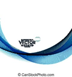 modern abstract wave background design