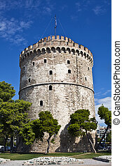 White Tower, Thessaloniki, Greece - The White Tower at...