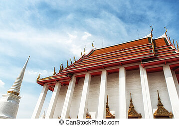 Wat Kalayanamit Temple, Bangkok, Thailand - The Wat...