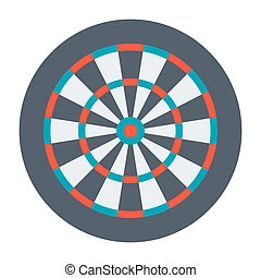 Dartboard for Darts Game