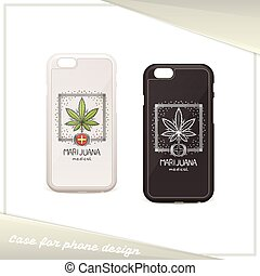 Medica Marijuana Case Seven - Design cover for a phone with...
