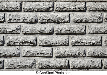 Texture of concrete fence with relief and texture like a...