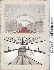 vintage corridor design