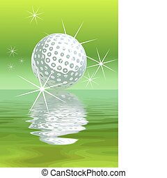 Vector golf Background - Abstract golf Background vector...