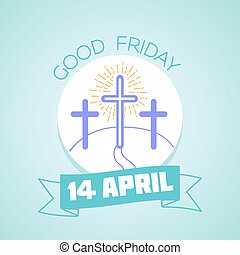 Calendar Good Friday - Calendar for each day . Greeting...